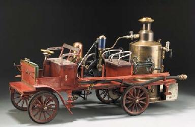 Пожарная машина Marklin. Нач. ХХ в. - Christie's, 2001 - $24 тыс.