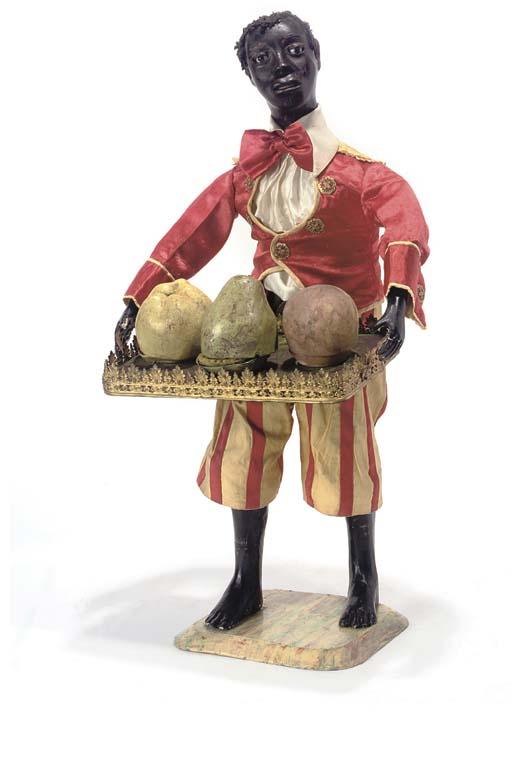 Прдавец фруктов. Игрушка-автомат фирмы Vichy. Ок. 1885 г. - Christie's, 2006. - $14,8 тыс.