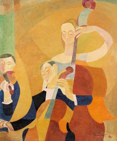Г.Григорьева. Концерт Вивальди. 1965. Х.,м.
