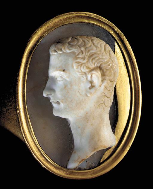 Древнеримская камея с изображением императора Калигулы. 1 в. н.э. Gemma Caliguliana