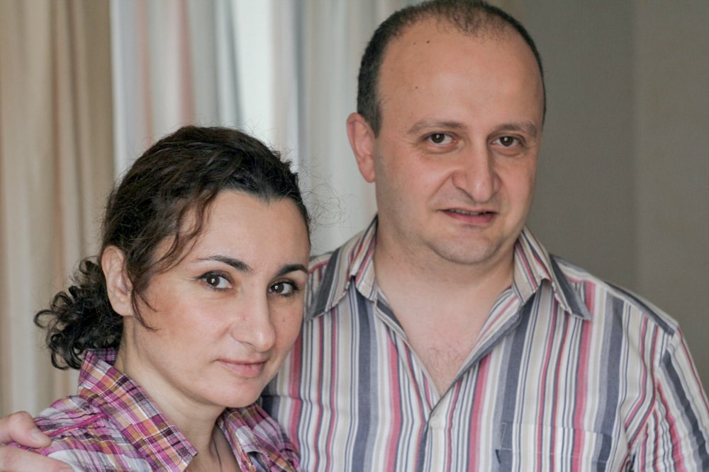 Карен и Рузанна Мартикян