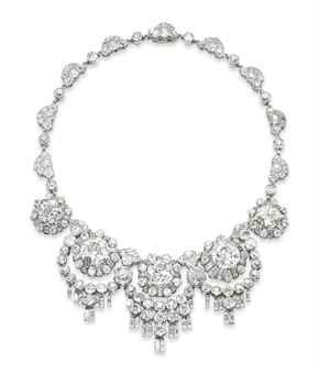 Бриллиантовое колье. René Boivin. Christie's, ноябрь 2011 - $604 тыс.