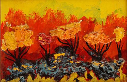 В.Баклицкий. Осень. 1991. К.,м.