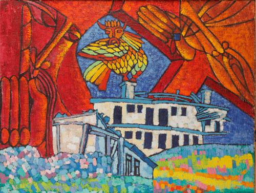 В.Баклицкий. Троица. Кон. 1980-х. Х.,м.