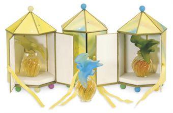 """Флаконы для духов """"L'AIR DU TEMPS"""" фирмы """"Nina Ricci"""". Christie's, июль 2010 - $563 (за 6 единиц)"""