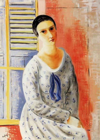 М.Кислинг. Портрет мадам Зборовской. 1922.