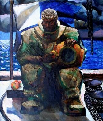 Геннадий Арефьев. «Водолаз» (1974, Севастопольский ХМ)