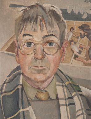 С.Спенсер. Автопортрет. 1957