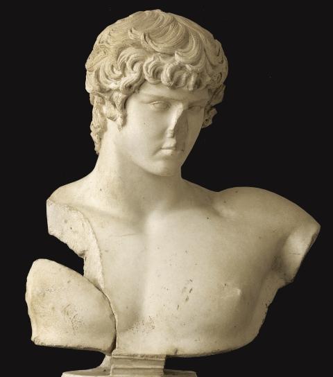 Антиной. 2 в. н.э. Мрамор