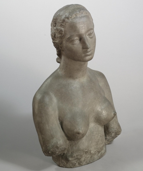 Wilhelm Lehmbruck. Bust of a Woman. 1910-1922