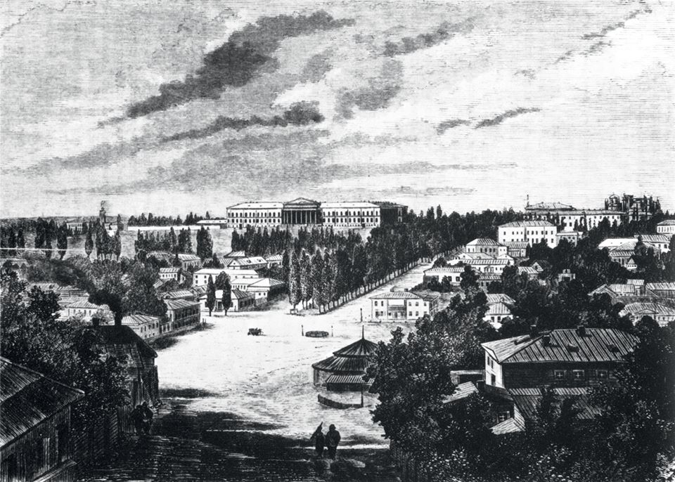 Вот так выглядел центр будущего Терещенкограда в 1873 году