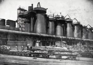 Доменный цех, 1906 г.