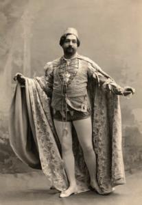 Сын Алексея Алчевского Иван, известный оперный певец