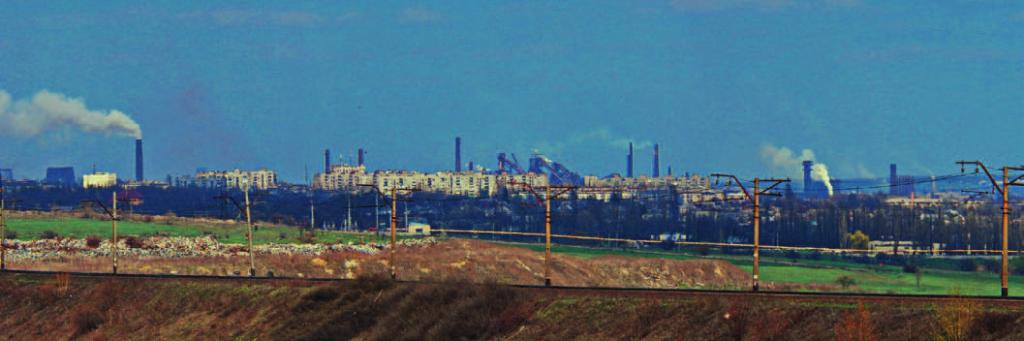 Панорама Енакиево. Фото В. Гикавого