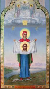 Не на Андреевском ли спуске был написан образ Божией Матери «Порт-Артурской»?