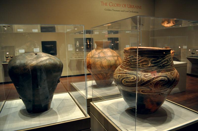 Трипольская керамика из коллекции «Платар» на выставке «Слава Украины. Золотые сокровища исчезнувших цивилизаций»