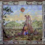 Киев XVII века. 1989. Шерсть, ручное ткачество. 230×250см