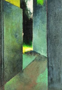 В. Зарецкий. Дух вышел. 1963. Х., м. 86×60см