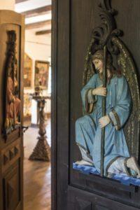 Вход в праздничный обрядовый зал музея «Душа Украины»