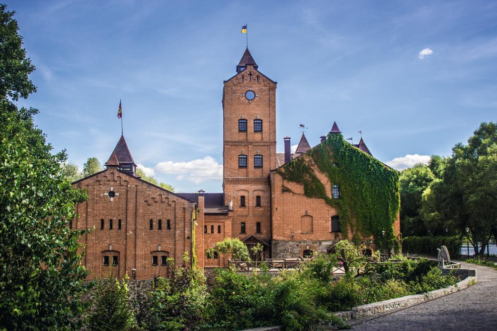 Замок-музей Радомысль. Фото Д. Краснова