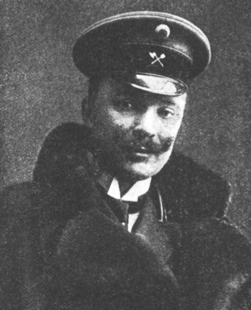 Архитектор Павел Алёшин, впервые сформулировавший важнейшие принципы деятельности главного архитектора Киева. Фото 1910‑х гг.