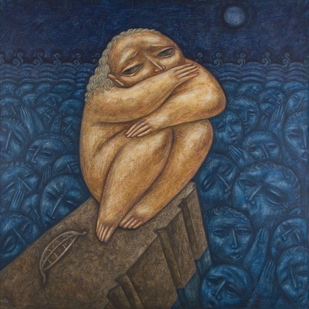 Ной. 1999. Холст, масло. 140×140см