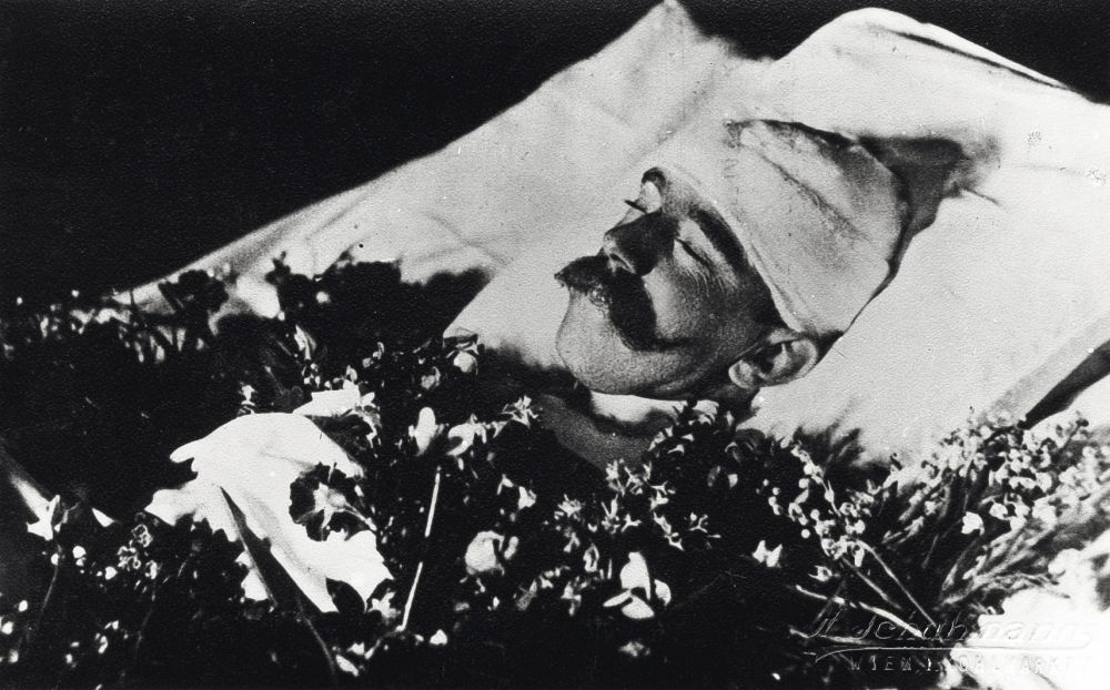 Кронпринц Рудольф на смертном одре