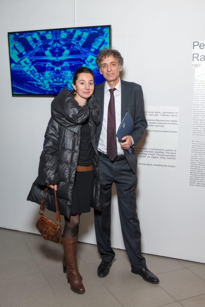 Посол Элиав Белоцерковский с женой