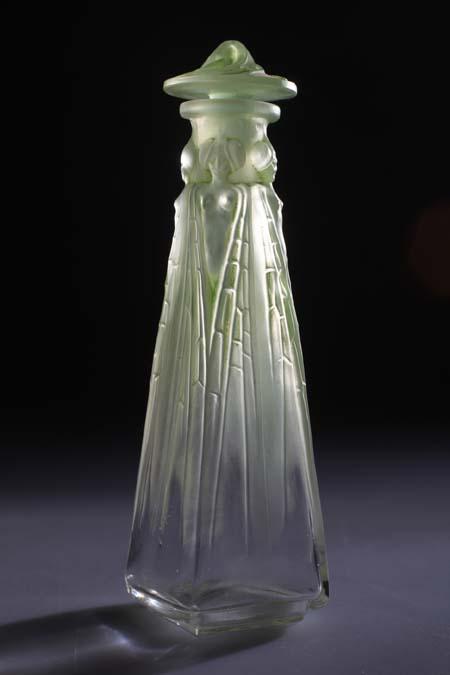 """Л.Гайяр. Флакон для духов """"Farnese"""". Одесский музей истории упаковки аромата."""