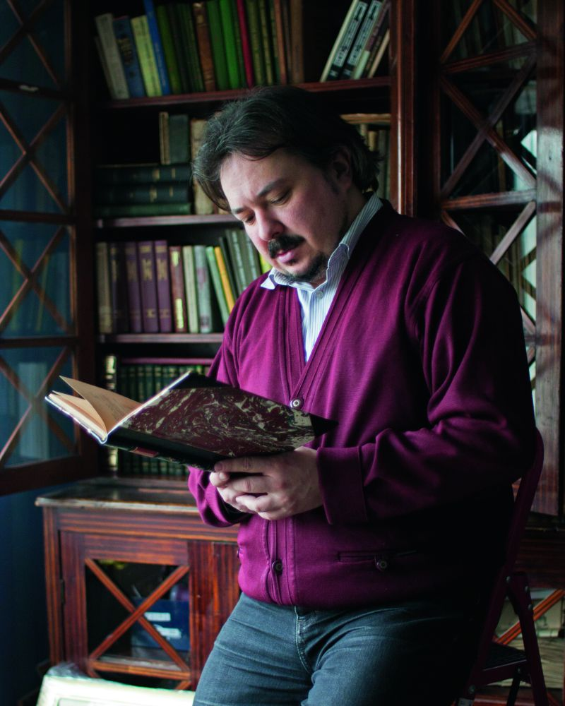 Білоус Андрій, віце-президент Товариства бібліофілів у Львові