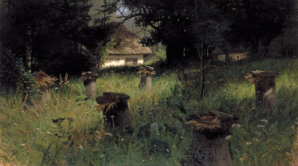 Н.Сергеев. Пасека.1885