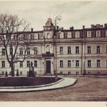 Здание в Музыкальном переулке, в котором до 1941 г. размещалась Киевская консерватория