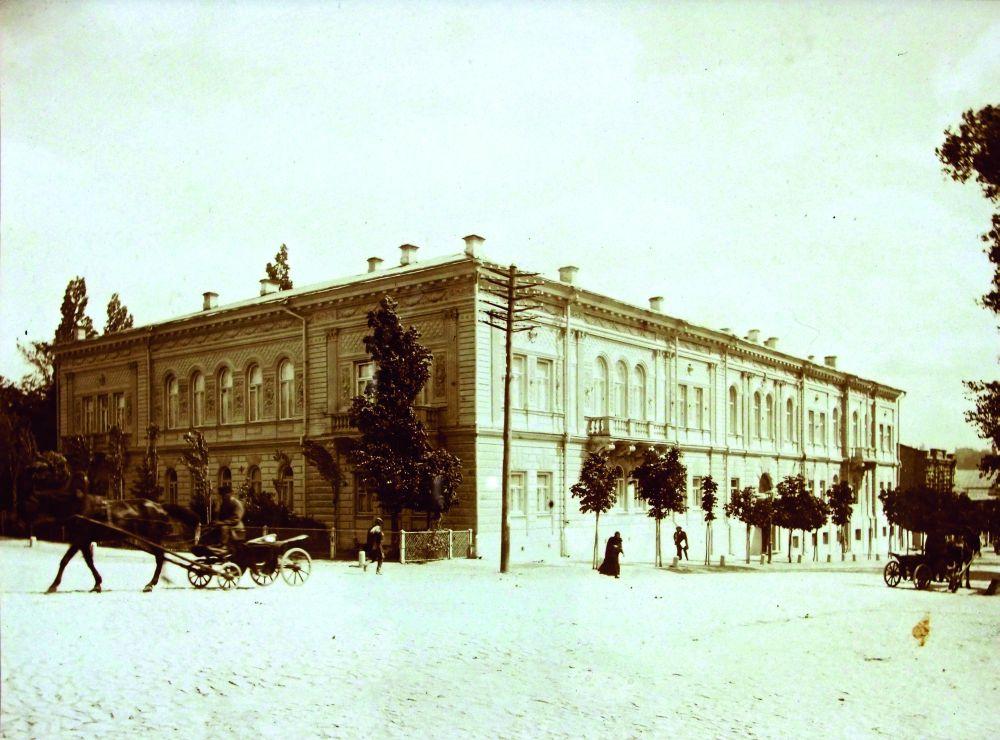 Особняк семьи Терещенко, в котором сейчас размещается Национальный музей Тараса Шевченко