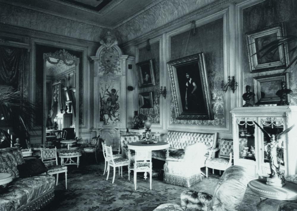 Первоначальное убранство комнат в особняке Терещенко