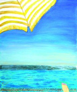 Отдых. 2011. Х., м. 120×100см