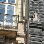 """Балкон на якому були встановлені """"Генії"""". Фото - Гал-інфо"""