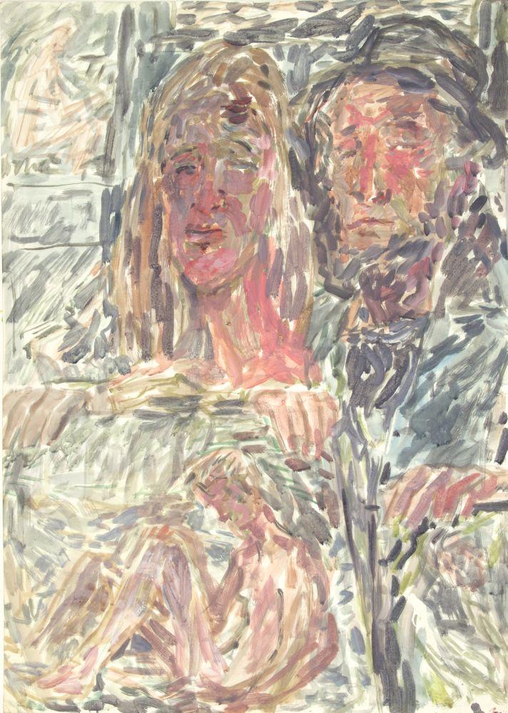 Уличные художники. Изсерии «Лондонская богема 50‑х». 1980‑е гг.