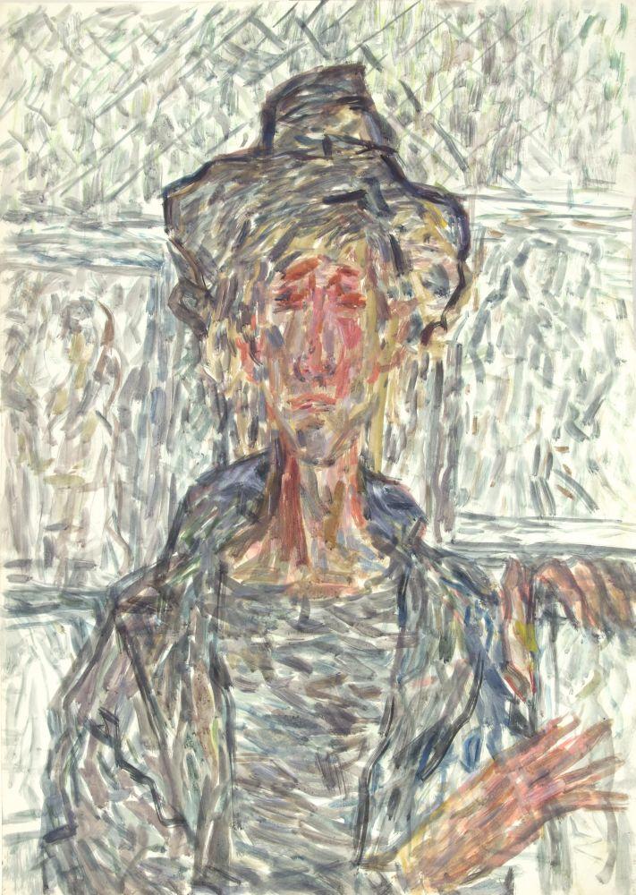 Утро, полное надежд. Молодой Чико сосвоими портретами. Изсерии «Лондонская богема 50‑х». 1980‑е гг.