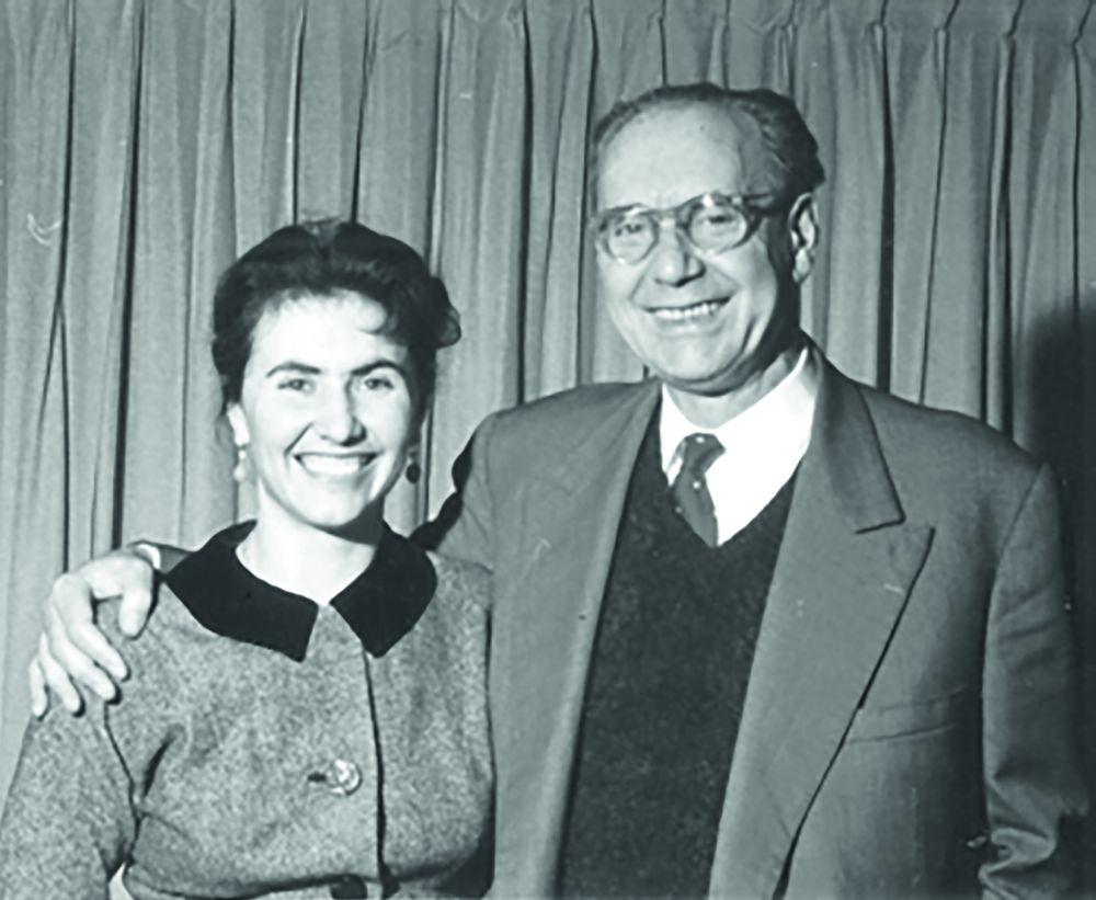 Катерина и Мыкола Кричевские. 1950-е гг.