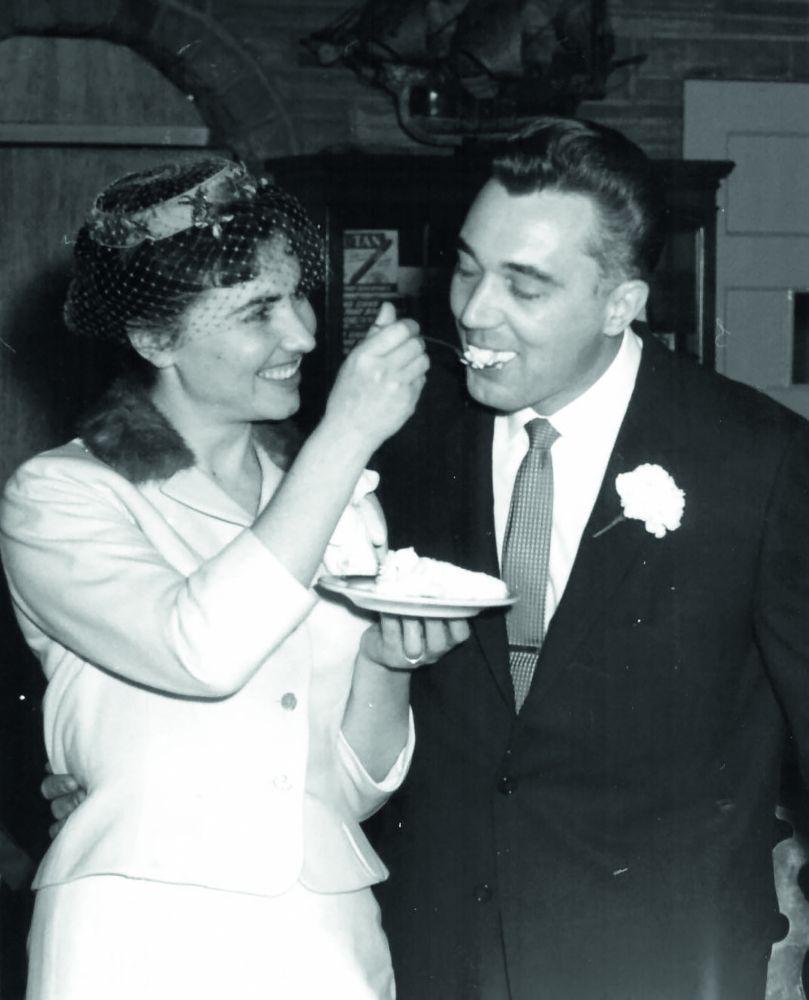 Свадьба Драго и Катерины. 29 декабря 1959 г.