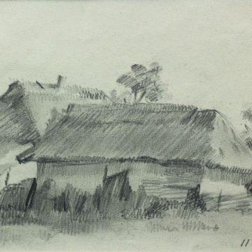 Хохитва. 1943. Б., кар. 13×17,5см. Частное собрание, Киев