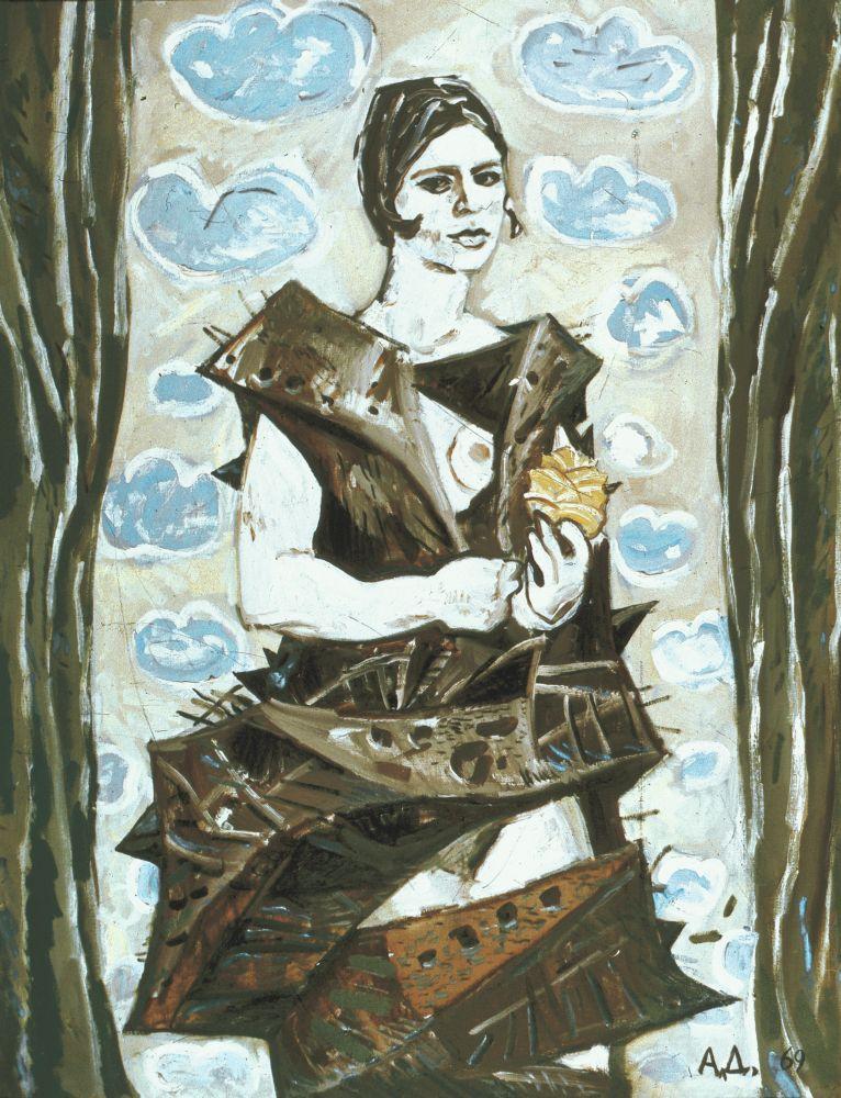 ПортретИры. 1969. Х., м. 130×100см