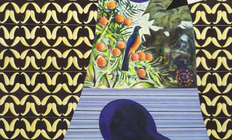 Любовь кдвенадцати апельсинам. 2013. Х., м. 130×130см