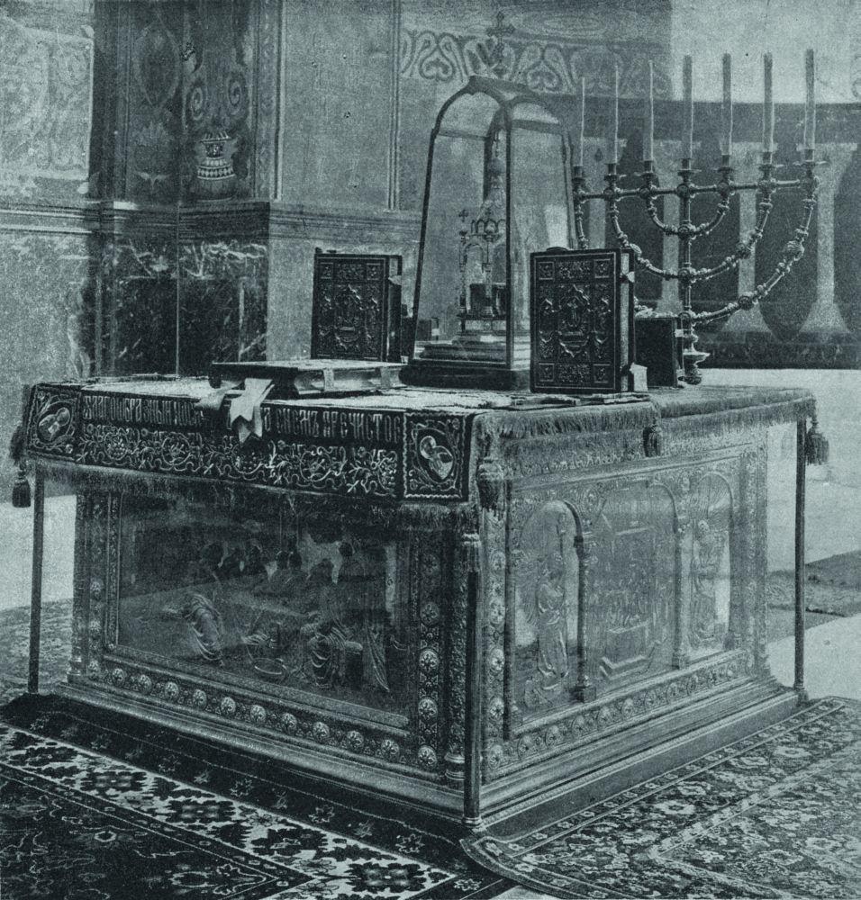 Главный престол Владимирского собора. Общий вид