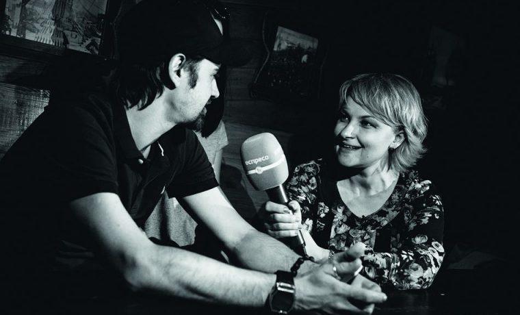 Во время съёмок программы «Культ: Експрес з Марією Бурмакою»