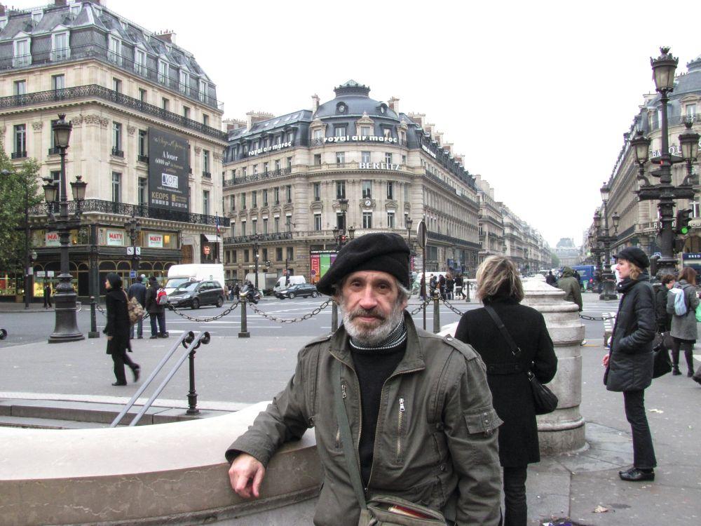 Евгений Ройтман. Париж, декабрь 2010 г.