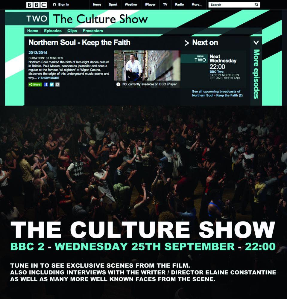 Реклама программы «Культура» на телеканале BBC 2