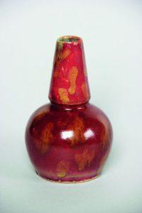 Ваза вформе «двойной тыквы». Керамика, глазурь. Изколлекции Г. Браиловского