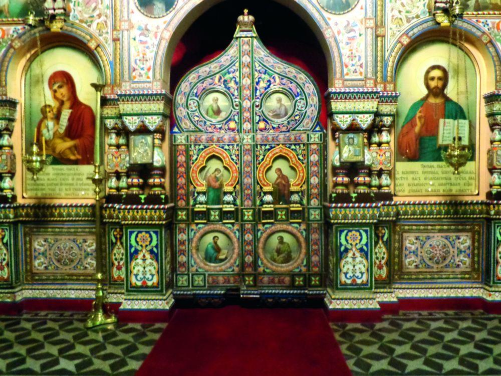 Интерьер Свято-Троицкой церкви вБуэнос-Айресе