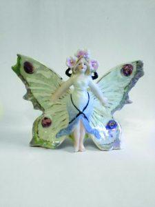 Илл.9. Девушка-бабочка. Модель №191. Частное собрание